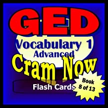 GED Prep Test ESSENTIAL VOCABULARY Flash Cards-CRAM NOW!-GED Exam Review Book & Study Guide (GED Cram Now! 8)