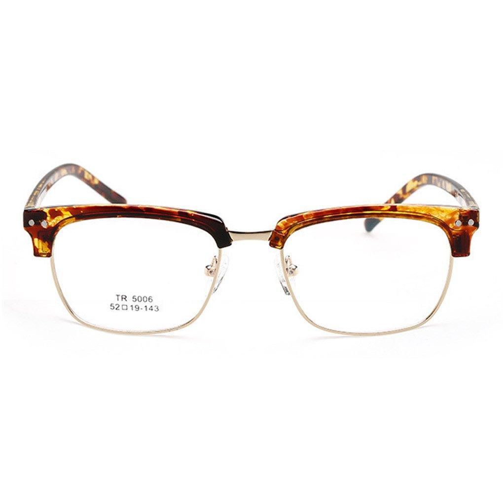 QHGstore TR 5006 Retro Eyebrows Flachgläser Gläser für Super Light ...