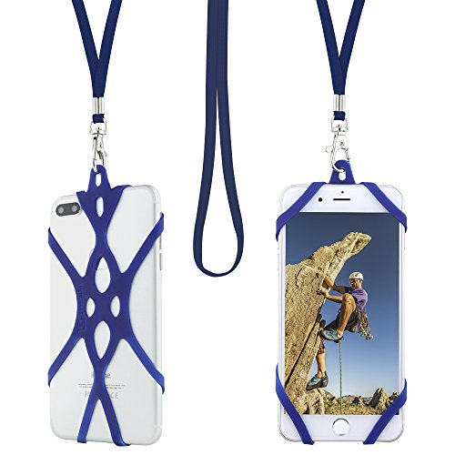 Cell Phone Lanyard Strap, Gear Beast Web Universal Smartphone Case Cover Holder Lanyard Necklace Wrist Strap For iPhone X 8 7 6S 6 Plus Galaxy S9 Plus S9 S8 Plus S8 S7 Note 8 5 4 Jitterbug Smart & Mor - Edge Logo Gear