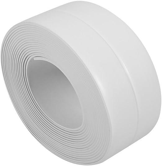 3.2M x 38mm Wall Sealing Strip Bath Shower Sink Basin Edge White Sealant Tape UK