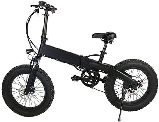 Jun Bicicleta De Ciudad Eléctrica Plegable De Aleación De Aluminio ...