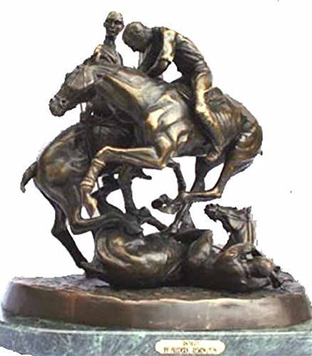 Polo by Frederic Remington Lost Wax Bronze Sculpture