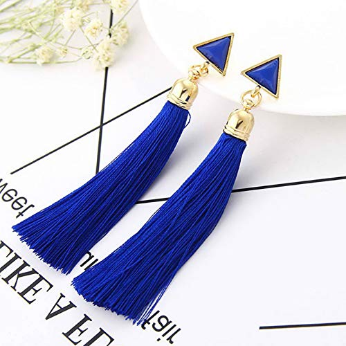 Rhame Fashion Vintage Women Bohemian Fringe Boho Long Tassel Hook Drop Dangle Earrings | Model ERRNGS - 6107 |