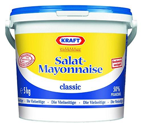 Kraft Salat-Mayonnaise 50% 5 kg, 1er Pack (1 x 5 kg)