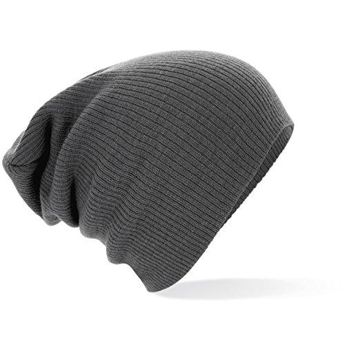 ShirtInStyle slouchmütze fashion, bonnet Taille unique Gris - Smokegrey