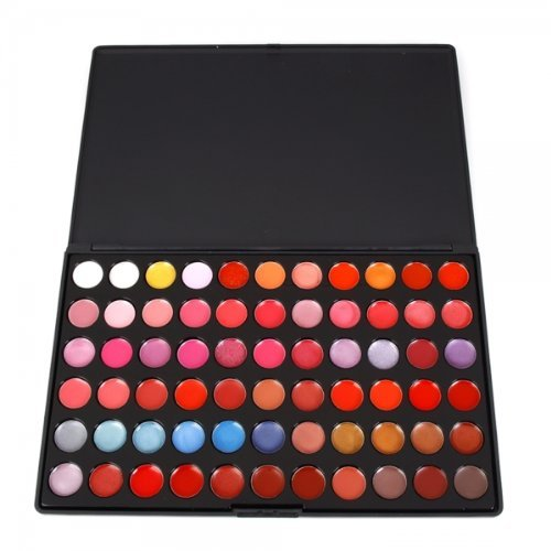 ThyWay Multicolored 66 Color Cosmetic Makeup Lipstick Palette