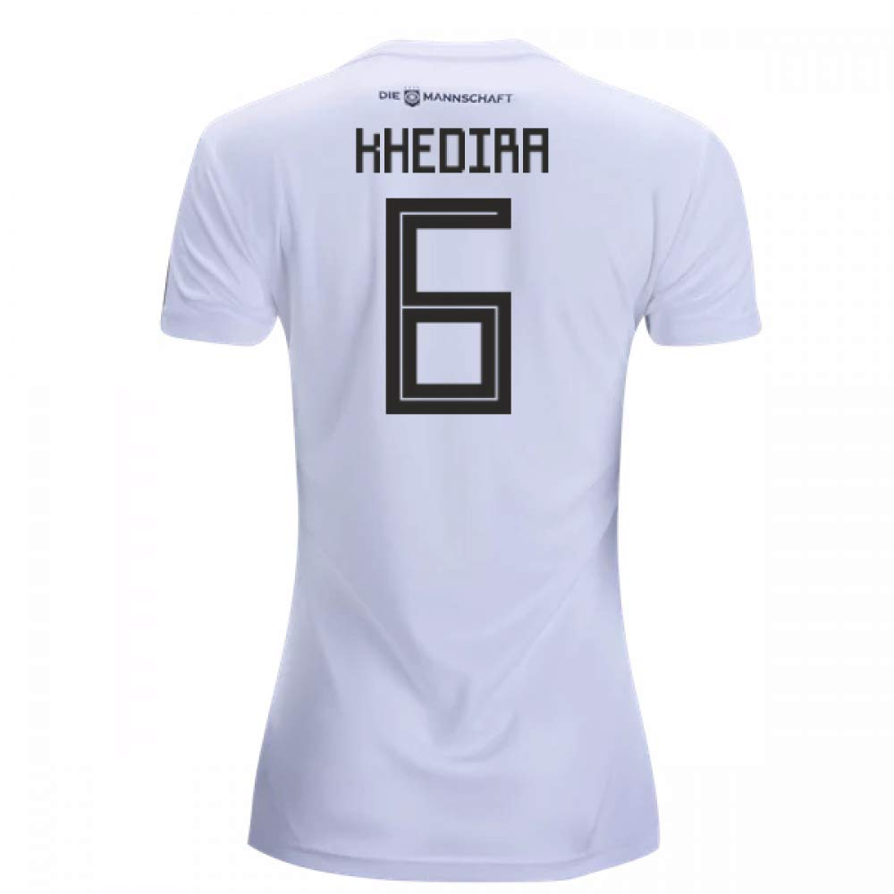 2018-19 Germany Home Damenschuhe Football Soccer T-Shirt Trikot (Sami Khedira 6)