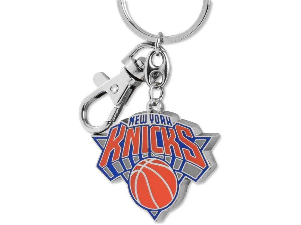 NBA New York Knicks NBA-KT-091-04 Heavyweight Keychain, One Size, Multicolor