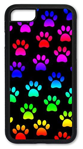 (iPhone 6 Case, Slim Fit Shell Hard Plastic Full Protective Cover Case for Apple iPhone 6 - Paw Prints)