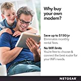 NETGEAR Cable Modem CM500 - Compatible With All