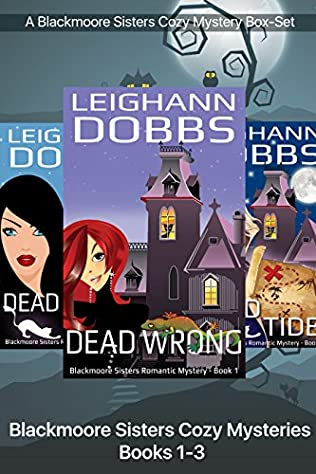 book cover of Blackmoore Sisters Cozy Mysteries Books 1-3