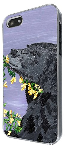 426 - Coll Black Bear Design iphone 5 5S Coque Fashion Trend Case Coque Protection Cover plastique et métal