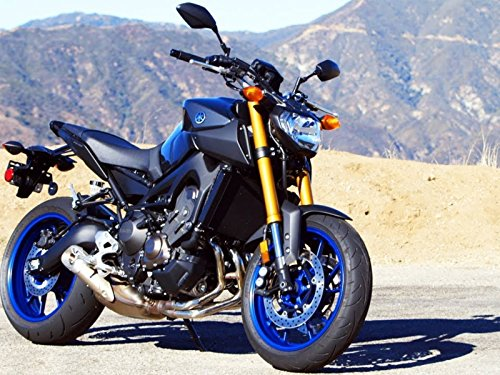 2014 Yamaha FZ-09! Low-End Torque and an Intense Top-End Rush