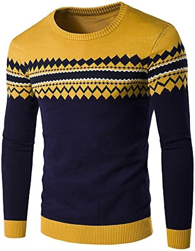 elonglin mężczyzn jesień zima Sweatshirt Pullover koszulka z długim rękawem ze wzorem: Odzież