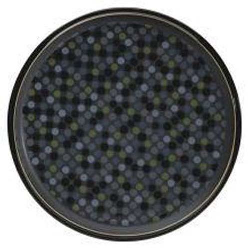 Denby Jet Dots Round Platter -