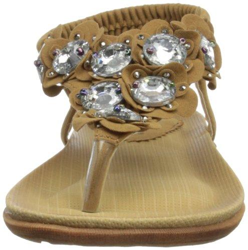 Griffith Park Jlh600 - Sandalias de vestir Mujer Marrón