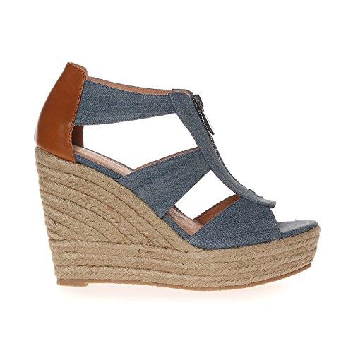 CHATTAWAK Debby - Zapatos Mujer Azul (Jeans)