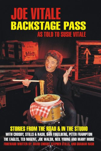 Backstage Pass: Written By Susie Vitale