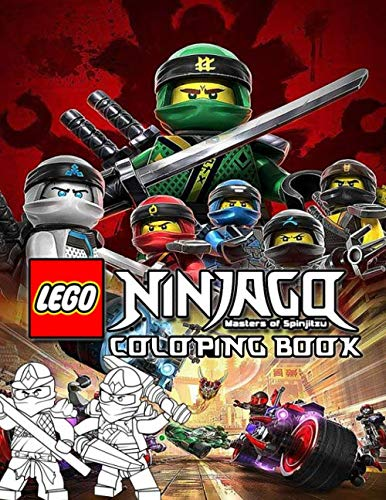 Lego Ninjago Coloring Book: If You Love Lego Ninjago, You Need This Coloring Book. Perfect Gifts For Nijago Lego Fan With High Quality Images And Beautiful Printing.