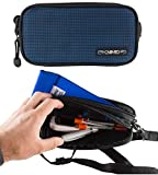 ChillMED Carry-All Diabetic Travel Case Supply Bag (Blue) 8.6'' x 4.5'' x 2.5''