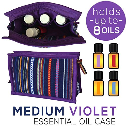 Clothes Travel Luggage Organizer Pouch (Violet) Set of 6 - 6