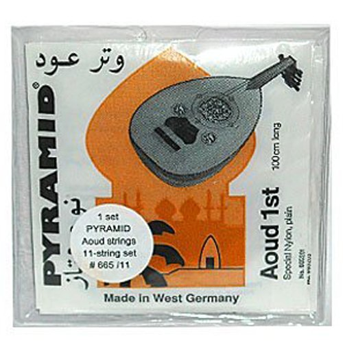 Pyramid Oud Strings 11 String Set Aoud Strings Set Model 665/11 by Pyramid strings