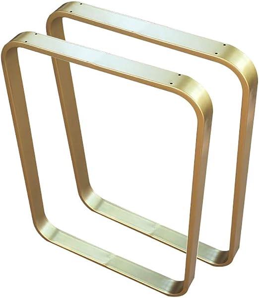 Patas de Mesa de Metal en Forma de U de 70 cm de Altura para ...
