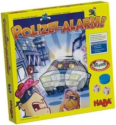 HABA 4311 - Juego de Mesa sobre policías y Ladrones (en alemán): Amazon.es: Juguetes y juegos