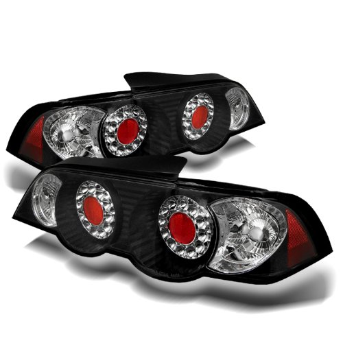 Redlines TL-ARSX02-LED-JM Black Medium LED Tail Light for Acura RSX '02-'04 and Lexus Altezza - (Arsx02 Led)