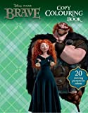 Disney's Brave Copy Colouring Book With Crayons (Disney Pixar Brave Film Tie in) by Disney (2014) Paperback