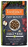 Instinct Raw Boost Grain Free Recipe with Real Venison Natural Dry Dog Food by Nature's Variety, 20 lb. Bag