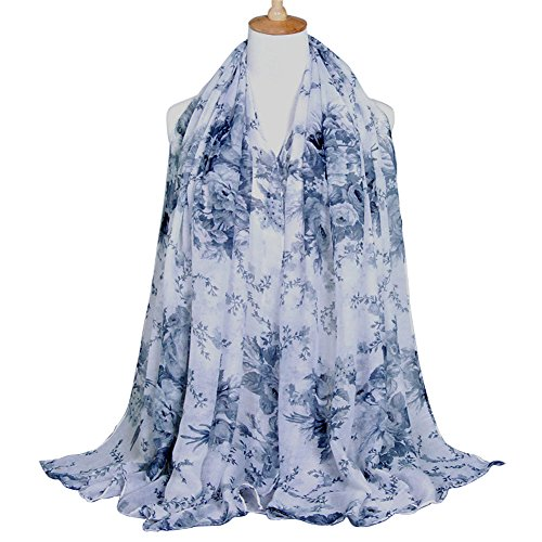 E Clover Lightweight Scarves Shawl Floral product image