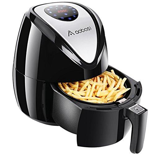Aaobosi 3.7QT Digital Air Fryer Oil Free Low Fat Healthier Smokeless Cooker