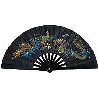 Chinese Kung Fu Tai Chi Fan Arts Dance/Practice Performance Bamboo Folding Fan