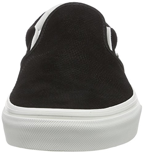 VansClassic Slip-On - Zapatillas de Deporte Unisex adulto Negro - Noir (Lizard Emboss/Black/Blanc de Blanc)