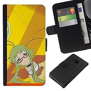 Leather Etui en cuir || HTC One M9 || Criada japonesa @XPTECH