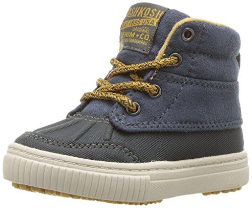 OshKosh B'Gosh Kids' Bandit Boy's Duck Boot Sneaker,Blue/Grey,8 M US Toddler