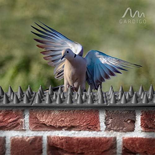 Gardigo 6004320 6 Metres Pics Anti Pigeons Piques Pic Pour Murs Fenetre Clotures Barrieres Potagers Canape Repulsif Chats Chiens Pic Anti Pigeon Oiseaux Set De 20 Panneaux 3 Rangees Amazon Fr Jardin
