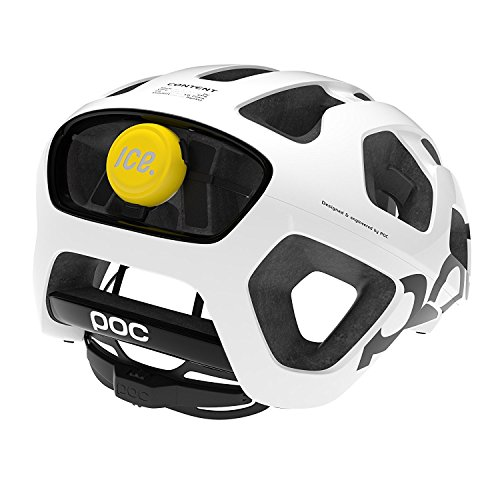 ICEdot Bike Helmet Mounted Crash Sensor - Yellow