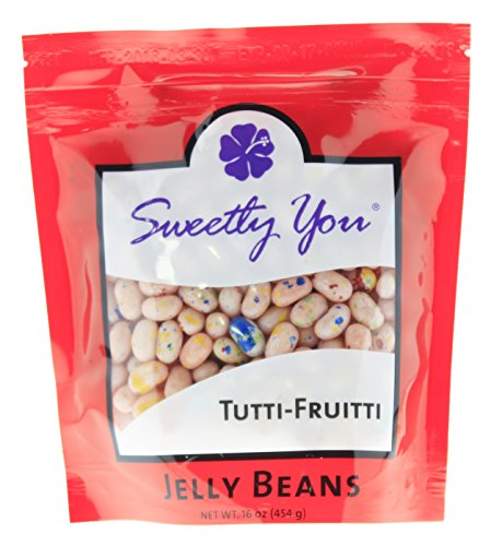 Jelly Belly 16 OZ Tutti-Frutti Flavored Beans.  bulk jelly b