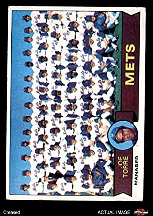 Amazoncom 1979 Topps 82 Mets Team Checklist Joe Torre New York