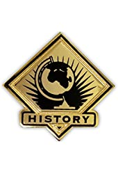 School Lapel Pin - History
