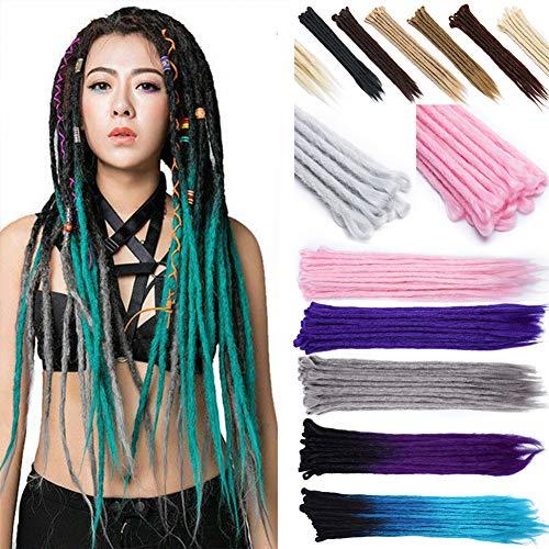 100% Handmade Dreadlocks Extensions Fashion Reggae Hair 24