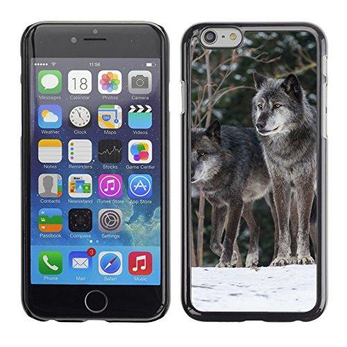 """Premio Sottile Slim Cassa Custodia Case Cover Shell // F00013267 Loup chien // Apple iPhone 6 6S 6G 4.7"""""""
