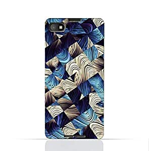 Blackberry Z30 TPU Silicone Case With Digital Art Abstract Pattern