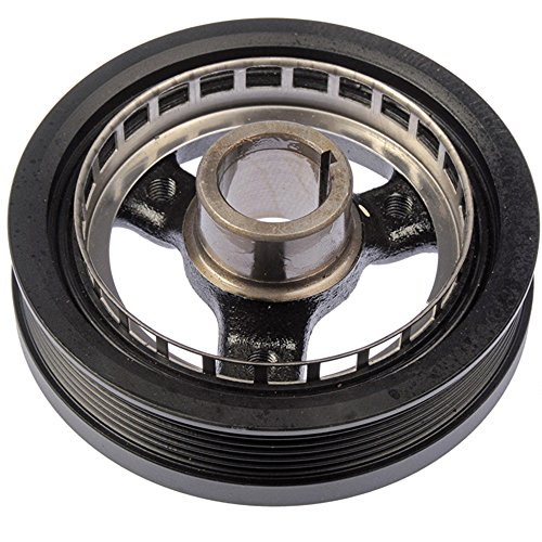 Bapmic 24504609 Harmonic Crankshaft Balancer Drive Belt Pulley for Chevrolet Buick Pontiac Oldsmobile