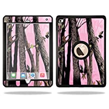 Mightyskins Protective Vinyl Skin Decal Cover for OtterBox Defender Apple iPad Air 2 wrap sticker skins Pink Tree Camo