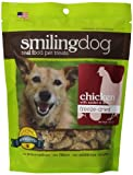 Herbsmith Smiling Dog Freeze Dried Chicken with Apples and Spinach Treats for Dogs and Cats, 2.5-Ounce