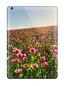 LastMemory Case For Ipad Air With Nice Flower Field Appearance
