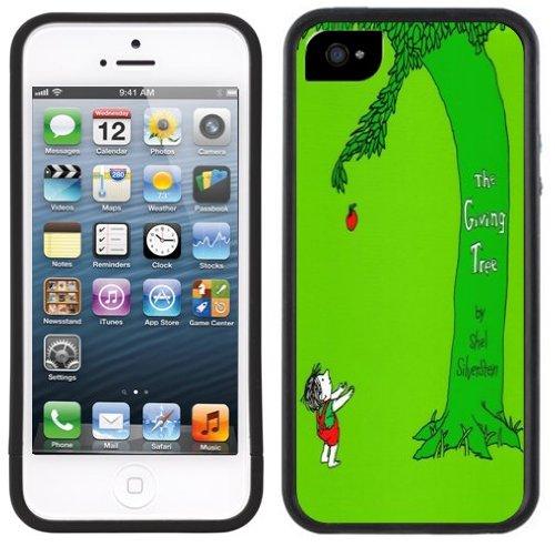 Baum schenken | Handgefertigt | iPhone 5 5 s | Schwarze Hülle |